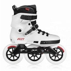 100% Original Powerslide NEXT trinité cadre patins à roues alignées 3*100/110/125mm 4*80mm course de rue patin à roulettes patins libres