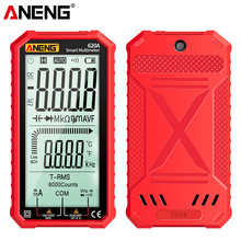 ANENG 620A Digital Multimeter True-RMS Auto-Ranging AC/DC Volt Ohm Capacitance Continuity Temperature Frequency Meter NCV Tester