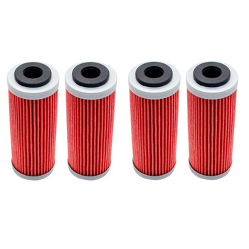 4/6pcs Motorcycle Oil Filter for KTM SX SXF SXS EXC EXC-F EXC-R XCF XCF-W XCW SMR 250 350 400 450 505 530 2007-2016 motorcycle ignition magneto stator coil for ktm 250 xcf w exc f xc f xcf w champion edit xcf w six days 77039104000