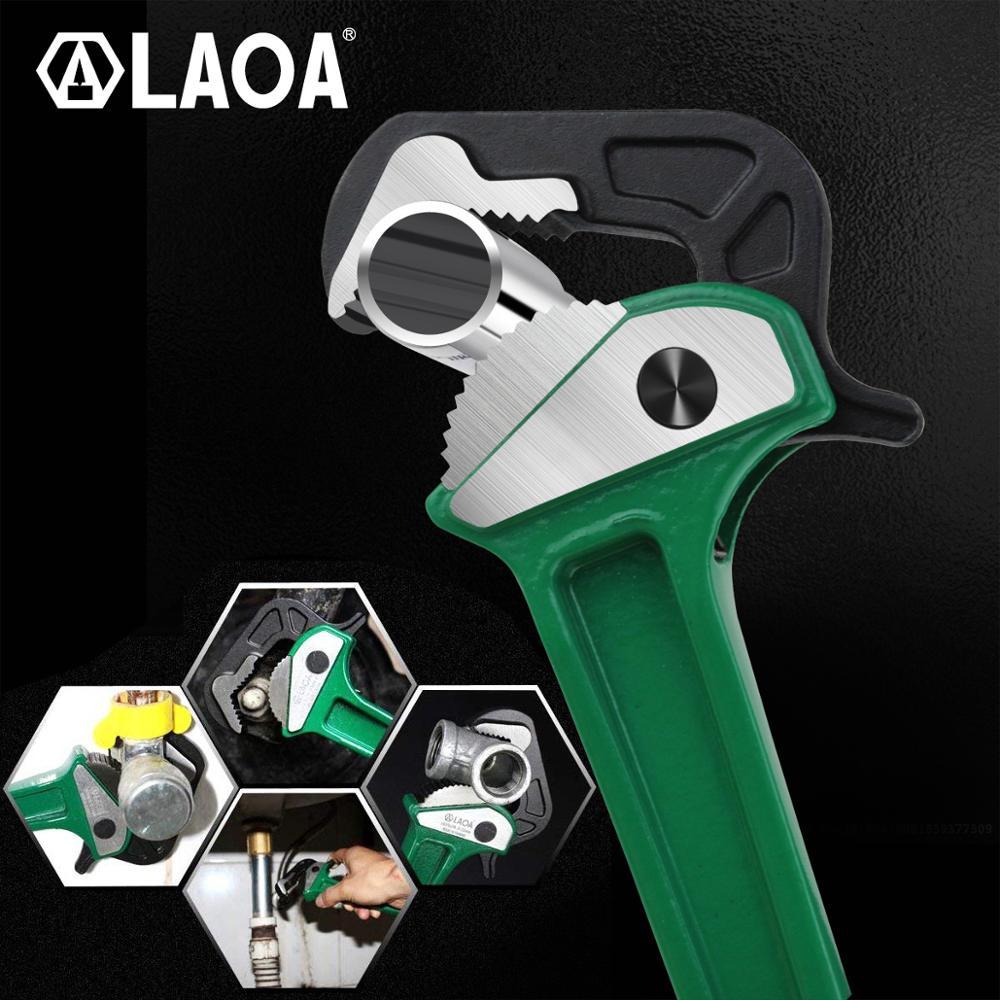 LAOA Pinze per tubi rapide multifunzione in alluminio a cricchetto - Utensili manuali - Fotografia 4