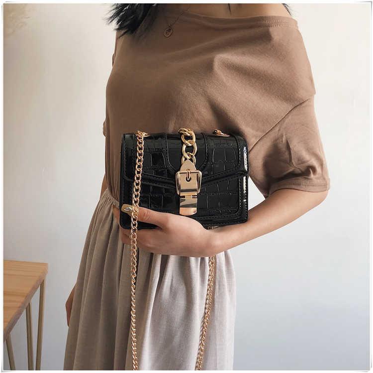 หรูหราผู้หญิงกระเป๋ากระเป๋าสะพายเล็กกระเป๋าแฟชั่นสีดำกระเป๋าถือผู้หญิง Crossbody แพ็คเก็ตหญิง SAC à หลัก