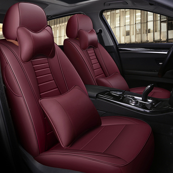 custom cowhide car seat cover leather for Subaru Impreza Legacy XV Forester Outback BRz car Seat Protectors Interior Accessoies