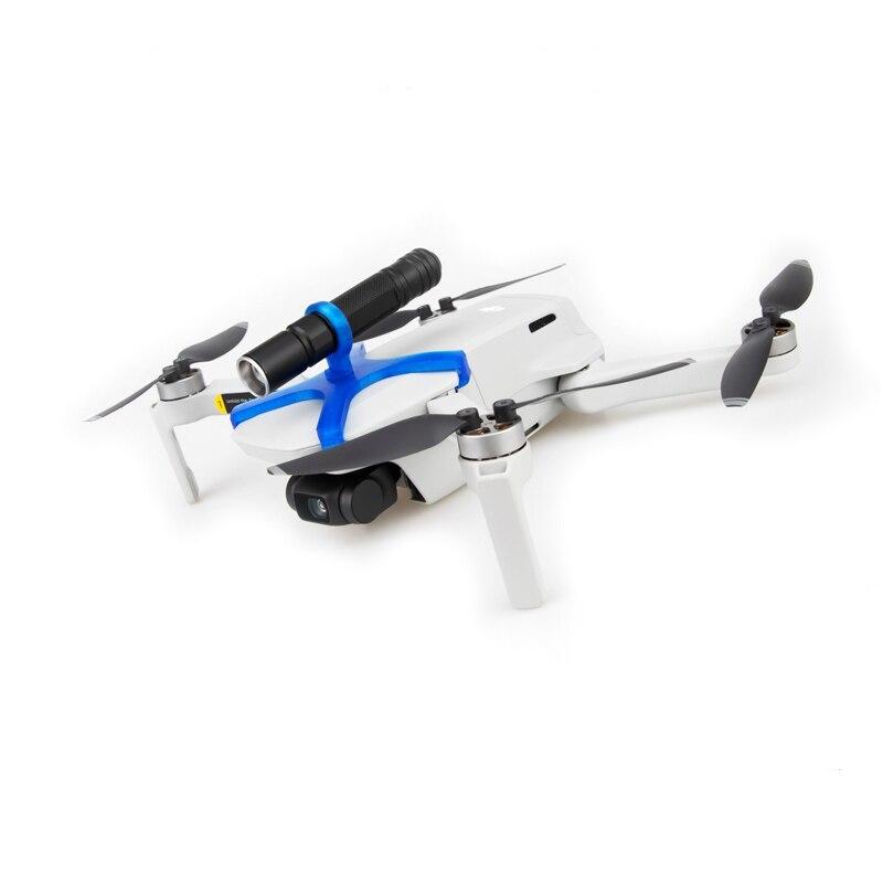Mavic Drone LED Lights Night Flight Searchlight CRRE-Q5 Flashlight Use The AAA Battery For Dji Mavic Mini Drone Accessories