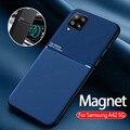 Чехлы для samsung a42 магнитный автомобильный держатель кожаный чехол для телефона samsung galaxy a42 5G a 42 GALAXYA42 6,6 ''силиконовый чехол coque