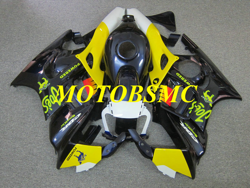Motorcycle Fairing kit for CBR600F3 97 98 CBR 600 F3 CBR 600F3 CBR600 1997 1998 yellow blue Fairings parts+gifts HM31