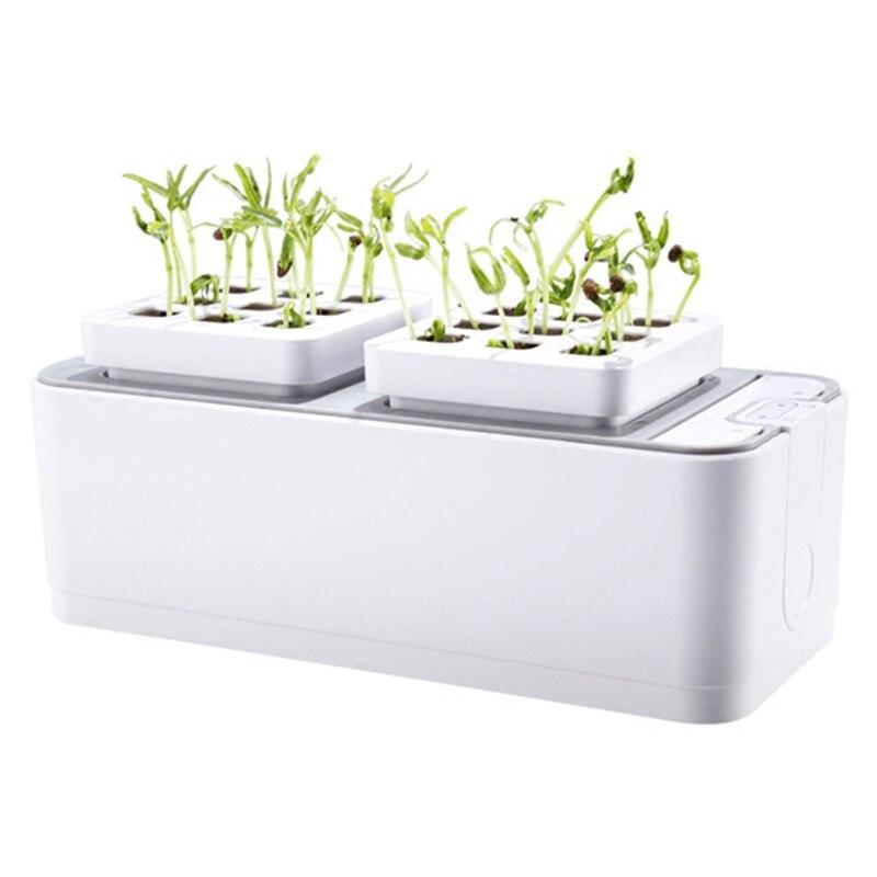 Батарея без воды Выращивание растений рост рассады наборы гидропоники комплект для выращивания растений Сад растение системы овощи инстру