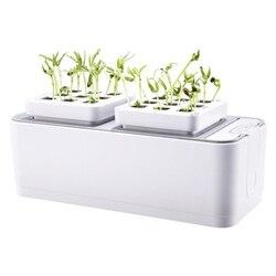Batteria di Coltivazione Fuori Suolo Pianta Piantina Crescere Kit Idroponica Crescere Kit Piantare Siti Giardino Sistema di Impianto Verdure Strumento B