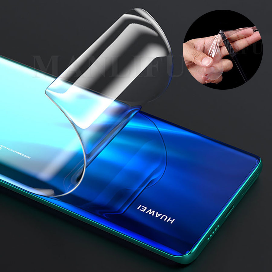 3D Front Back Clear Hydrogel Film Soft TPU Full Premium Screen Protector For Huawei Mate 20 P30 Pro Honor V30 Pro View 20 8X 9X