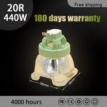 440 w 20r para a lâmpada do projetor moving head msd feixe platinum 20r lâmpada