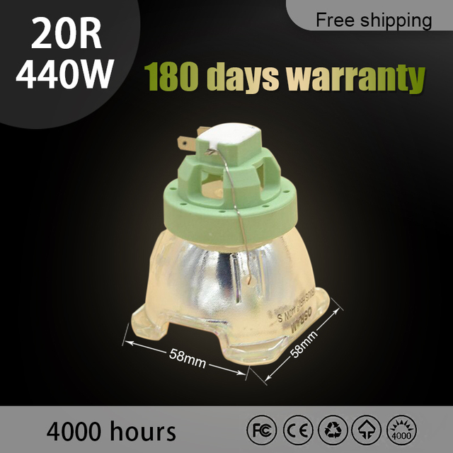 440W 20R pour lampe de projecteur tête mobile MSD faisceau platine 20R lampe