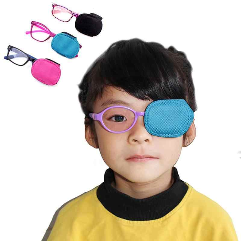 3 Đôi Amblyopia Mắt Cận Thị Kính Mắt Nhìn Sửa Mặt Nạ Mắt Người Trợ Giúp Cho Mắt Cận Thị Trẻ Em Huấn Luyện Không Dệt mặt Nạ Mắt