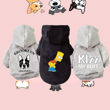 Winter Warm Dog Clothes Cotton Hoodies Clothes for Dogs Pet clothing for Small medium dogs Costumes Coat For Cat French Bulldog