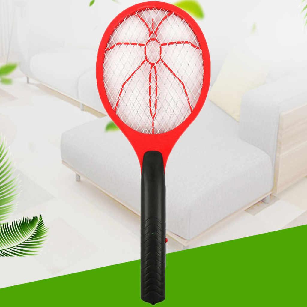 Baru Listrik Bug Hama Serangga Terbang Genggam Raket Pembunuh Nyamuk Pemukul Taman Rumah Hama Serangga Terbang Nyamuk Zapper Pemukul Pembunuh