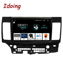 "Ido 10.2 ""4G + 64G ثماني النواة سيارة أندرويد راديو تلقائي مشغل وسائط متعددة صالح ميتسوبيشي لانسر 2010 2016 2.5D IPS لتحديد المواقع والملاحة"