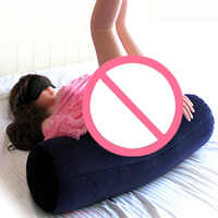 Flocking Sex Love Position Pillow Furniture Inflatable Sexual Adult Magic Cushion Couples Sexy Love Toys Pillows For Women Men