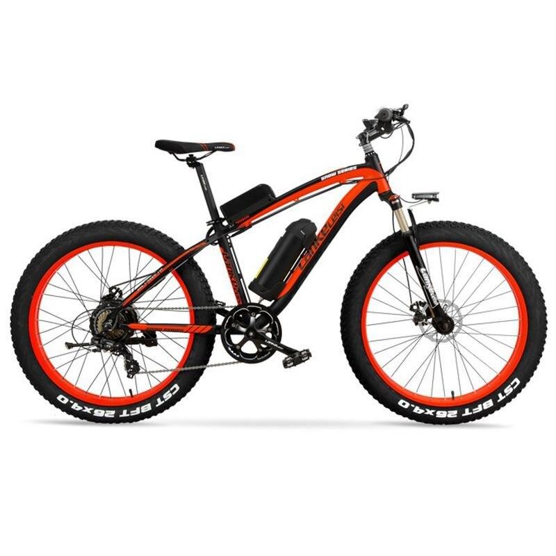 "XF4000 LANKELEISI 26"" 1000w 48v 16AH Panasoni'c Battery electric bike 4"