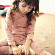 Осенние детские пижамы для девочек, одежда для сна Детские хлопковые пижамы, пижамы с принтом Одежда для маленьких девочек топ+ штаны, комплекты для сна из 2 предметов