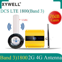 1800 gsm sinal impulsionador dcs lte 1800mhz 4g celular móvel sinal impulsionador gsm 1800 2g 4g celular celular amplificador 4g antena