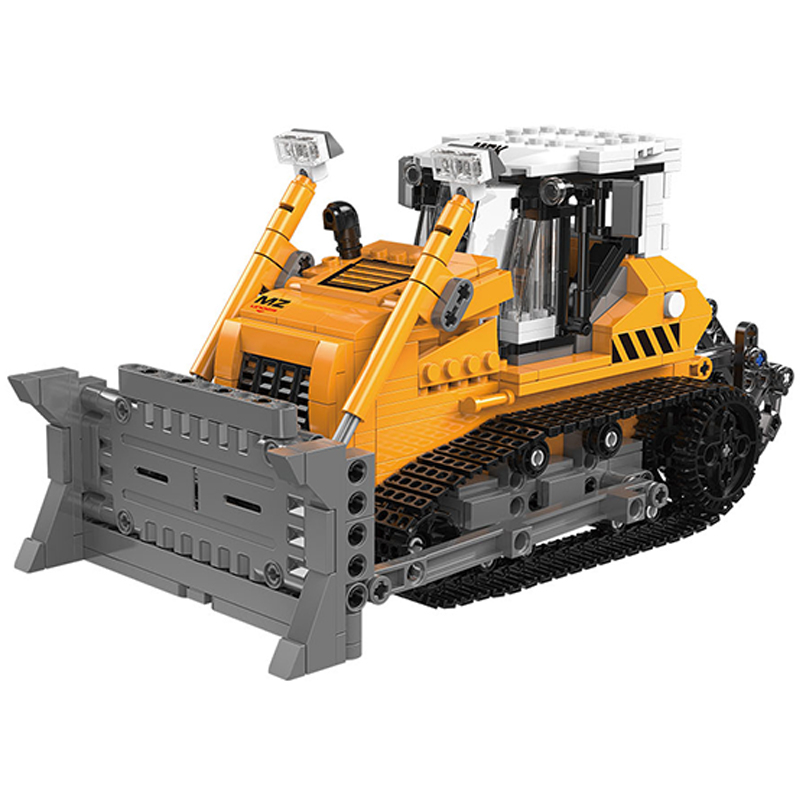 XINGBAO 03039 NEW City Engineering Series 703pcs The Bulldozer Building Blocks Vehicle Sets Compatible Legoings