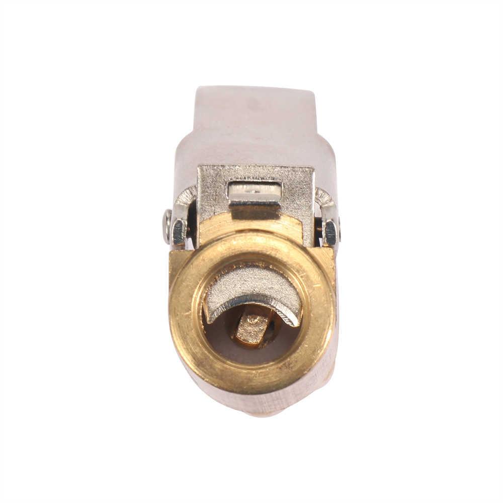 Auto Reifen Inflator Ventil Klemme Messing Luftpumpe Futter Clip Auto Reifen Räder Reifen Teile Für 6mm Oder 8mm Bohrung Schlauch