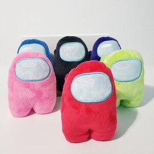 10 см среди американских игр плюшевые куклы мультяшная подушка игрушки Аниме Фигурка разноцветная кукла детская фигурка модель рождественс...