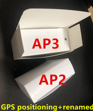 Com número de série válido ar pro gen 3 geração ap3 3 renomear fone de ouvido de carregamento sem fio bluetooth fones ap2 2nd generatio