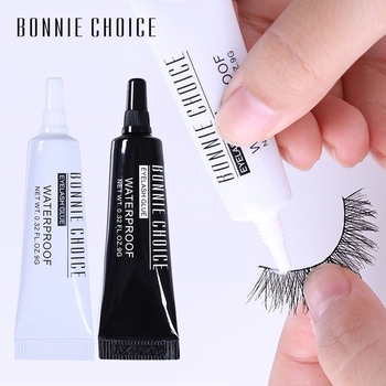 BONNIE CHOICE False Eyelash Glue Eye Lash Curler Tweezers For False Eyelashes Extension Applicator Remover Eyes Tool professional eyelash extension set thick false eyelashes eyelash glue eye lashes glue remover clean tool set