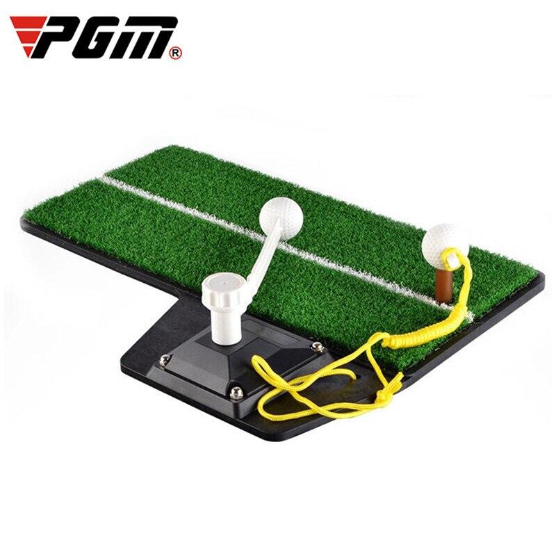 PGM Golf Mat Practice Device Durable Indoor Golf Swing Trainers Mat Golf Swing Trainer Aid Accessories