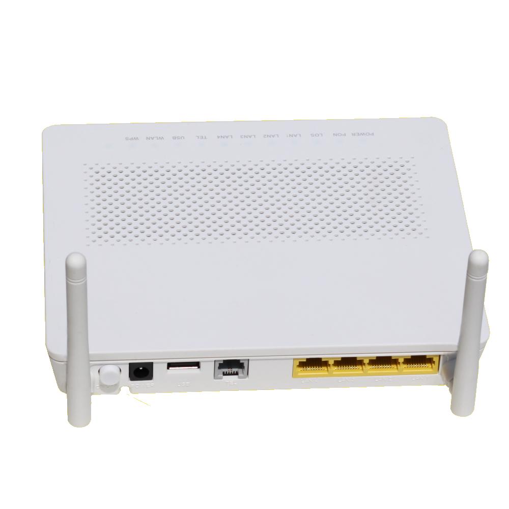 Livraison gratuite HG8546m équipement à fibres optiques 1ge + 3fe + 1tel + wifi gpon wifi routeur Triple Play Ont Ftth HUAIWEI Modem Gpon ONU
