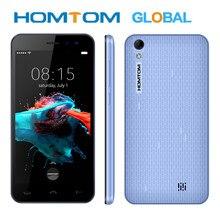 HOMTOM HT16 Smartphone Android 6.0 czterordzeniowy MTK6580 5.0 Cal pełny ekran 1GB RAM 8GB ROM 3G WCDMA telefon komórkowy