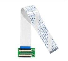 Yqwsyxl Neue 40Pin Zu 40Pin ZIF 0,5mm Stecker Adapter + Verlängerung Flach Kabel FFC Verlängern