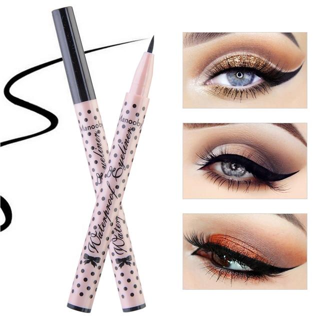1 Pc Black Liquid Eyeliner Pen Waterproof Long Lasting Eye Liner Pencil Quick Dry Eye Makeup Cosmetics Tools Dropshipping