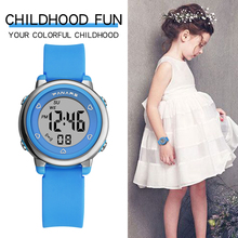Children Boys Girls Watches LED Digital Wacth Multifunctiona