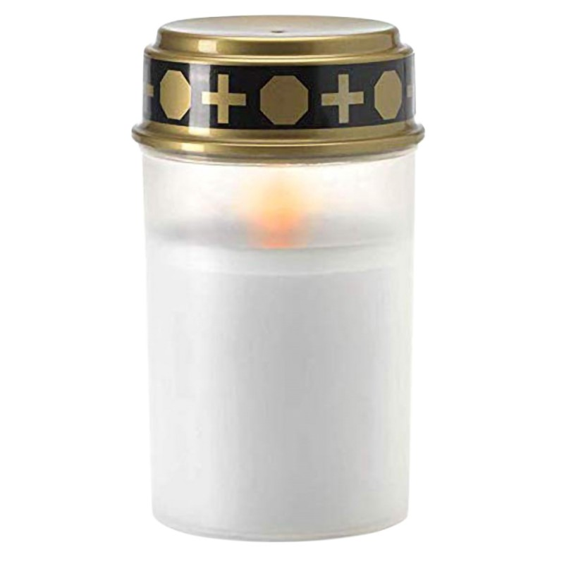New Candle Lamp Home Tea Light Grave Holloween Cemetery Ritual Energy Saving Decoration Solar Powered Flameless Led Electronic D