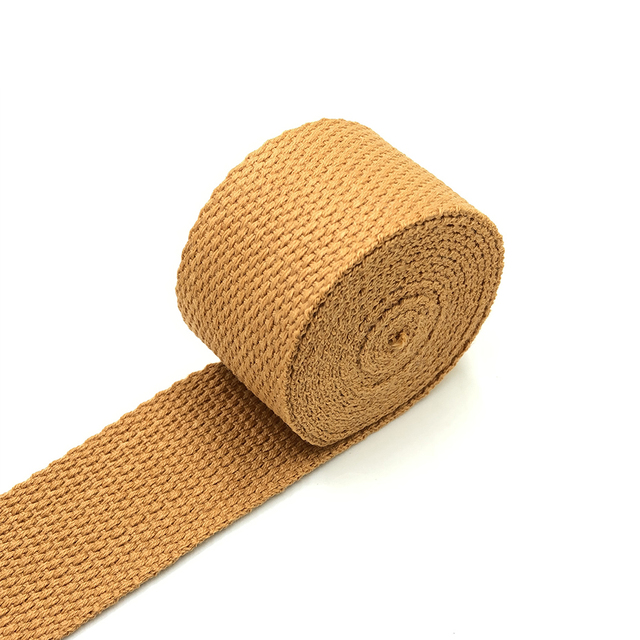Cotton Webbing 35yards*32mm Maroon Webbing Solid color Webbing Fabric belt Canvas Webbing Key Fobs Strap Webbing Bag strap
