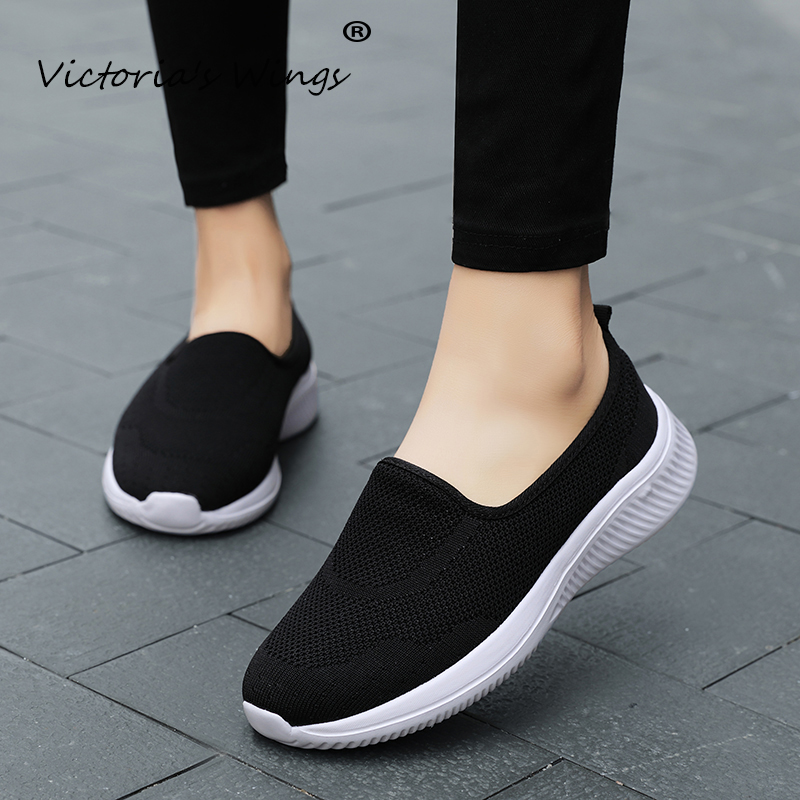 Cheap Victoria's Wings 2020 ultra-light four seasons women's shoes low-top casual sports fashion tide shoes breathable lightweight