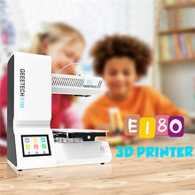 Geeetech E180 3D Printer 130*130*130Mm Printing Size Mini Diy 3D Printer 3.2