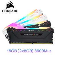 CORSAIR Vengeance RGB PRO RAM 16GB 2X8GB Dual-channel DDR4 16GB 32GB di memoria PC4 3000Mhz 3200Mhz 3600Mzh DIMM Modulo di Memoria