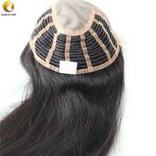 """TP02 2"""" парик человеческие волосы парики для женщин половина Wefted прямые длинные китайские девственные волосы части для женщин"""