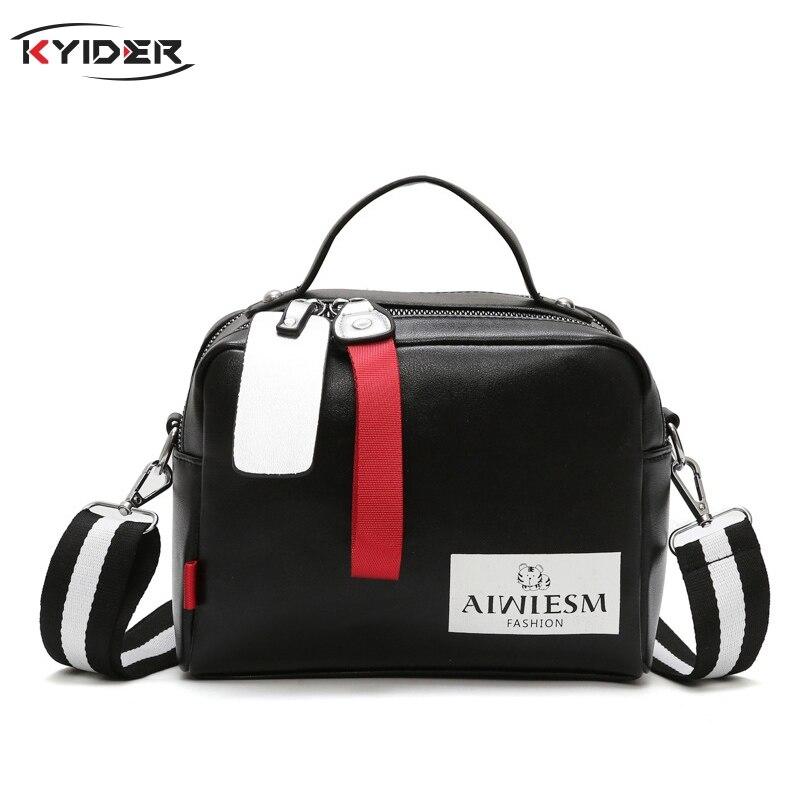 Large Capacity Boston Women's  Handbags Diagonal Shoulder Special Luxury Handbag Women's Crossbody Bag Wide Strap KYIDER