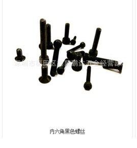 Винт с шестигранной головкой саморез черный/белый саморез с шестигранной головкой черный и белый с узором винт завод