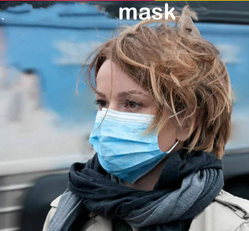 20 PCS Fast Delivery Safety Mask Sealed Pack FDA CE Approved Hot Sale Bacteria Proof Protective Mask Anti Dust Gas Mask tanie i dobre opinie disposable face masks dust fil tering three layers 50pcs=1box