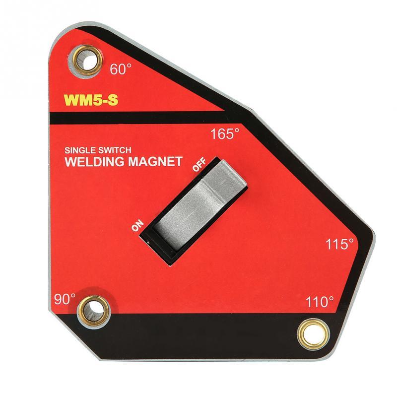 Малый размер одиночный переключатель вкл/выкл Промышленный сварочный магнит магнитный зажим инструмент