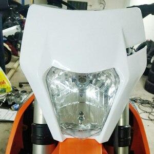 Image 5 - 오토바이 범용 전조등 라이트 헤드 라이트 KTM EXC EXCF SXF XC XCW XCF XCFW 125 150 250 350 450 530 먼지 자전거 Supermoto