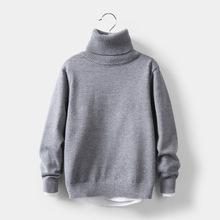 Dziecięce zimowe ubrania dla dziewczynki solidne dzieci z dzianiny sweter miękka odzież dla dziewczynek golf odzież dziecięca od 2 do 10 lat tanie tanio LAWADKA CN (pochodzenie) COTTON Na co dzień Stałe REGULAR Golfem Unisex 3T-10T Pełna NONE Pasuje prawda na wymiar weź swój normalny rozmiar