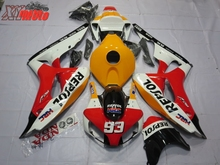 ABS Motorcycle Fairing Kit For Honda CBR1000RR 2006-2007 Injection Molding Fairings CBR 1000RR 06-07 Whiite Red Repsol Bodyworks цены онлайн