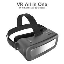 V18 VR כל אחד 2K מציאות מדומה משקפיים HD VR אוזניות WIFI BT אנדרואיד מערכת 16GB 3D משקפיים קסדת Immersive VR 3D משקפיים