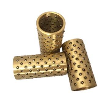 2 sztuk ID 5mm OD 6 8mm BGS miniaturowe kulka stalowa prowadnice rękawem klatka przewodnik post koraliki mosiężna tuleja 1mm średnica kulki 10mm-20mm długi tanie i dobre opinie WGQUIUHQIGHQUIGH92476276927629WOIJWHJWIOHJWIJ Mosiądz