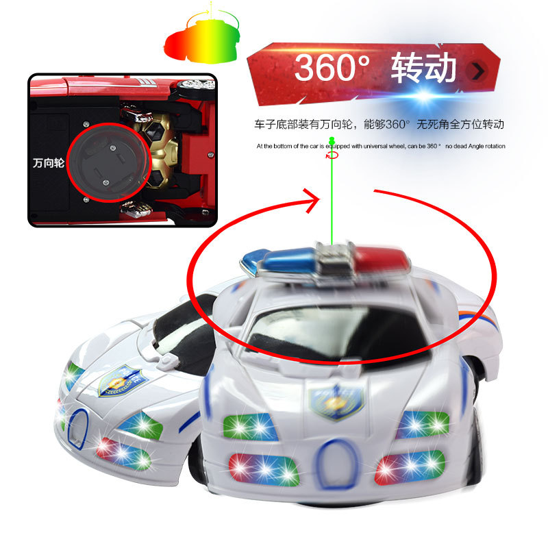 Electric Transformation Robot Models Children Universal Jingang Educational Toy Car With Light And Music Car