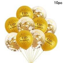 Eid Mubarak Party Ballon Gouden Islamitische Moslim Decor Ramadan Kareem Gelukkig Eid Mubarak Party Decor Voor Eid Al Fitr & eid Al Adha